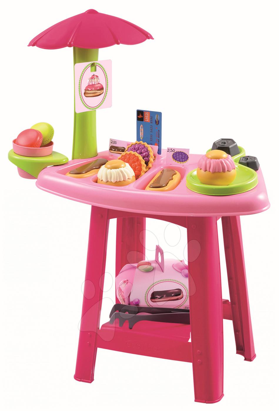 Obchody pro děti - Cukrárna Bubble Cook Écoiffier s váhou a 21 doplňky od 18 měsíců
