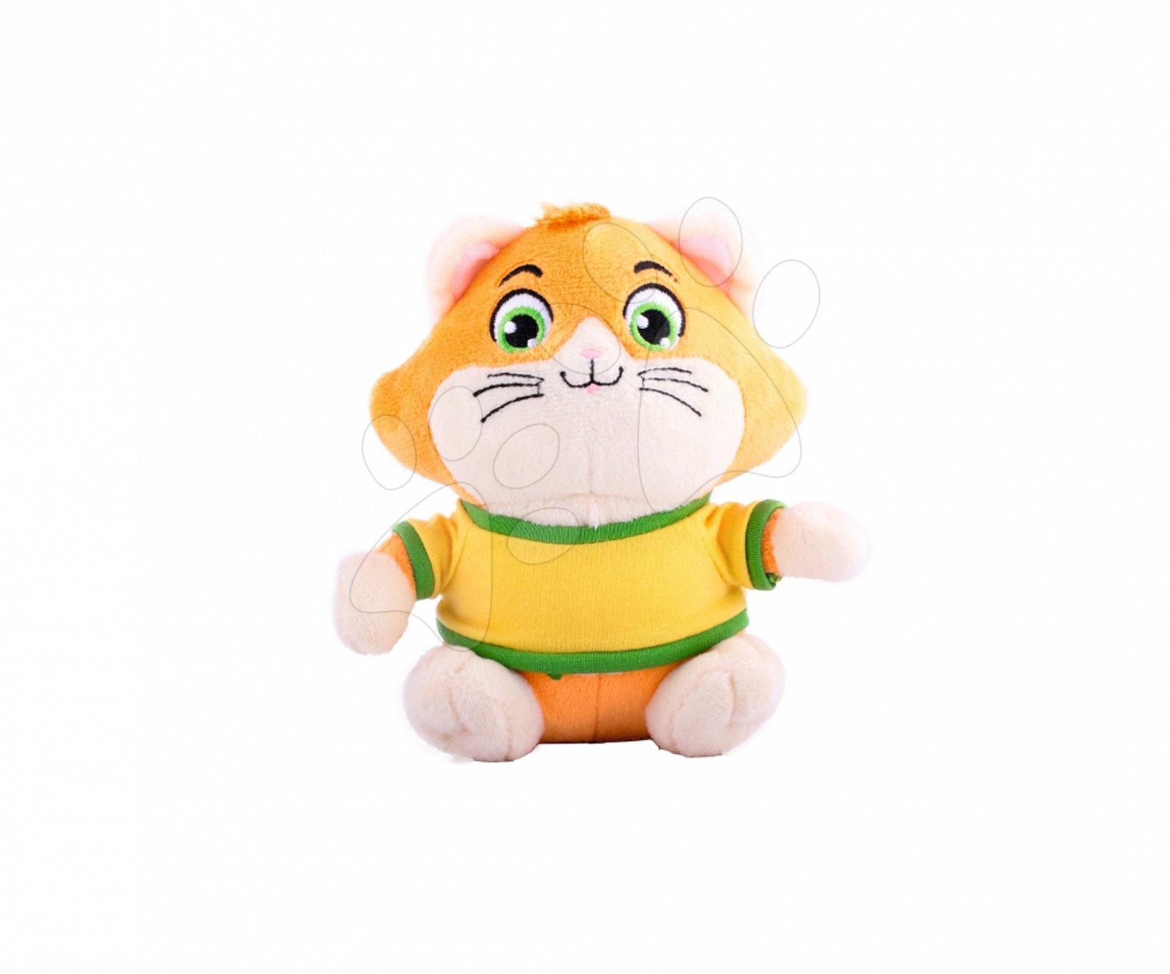 Plyšová mačka Meatball 44 Cats Smoby 14 cm pre najmenších od 0 mes