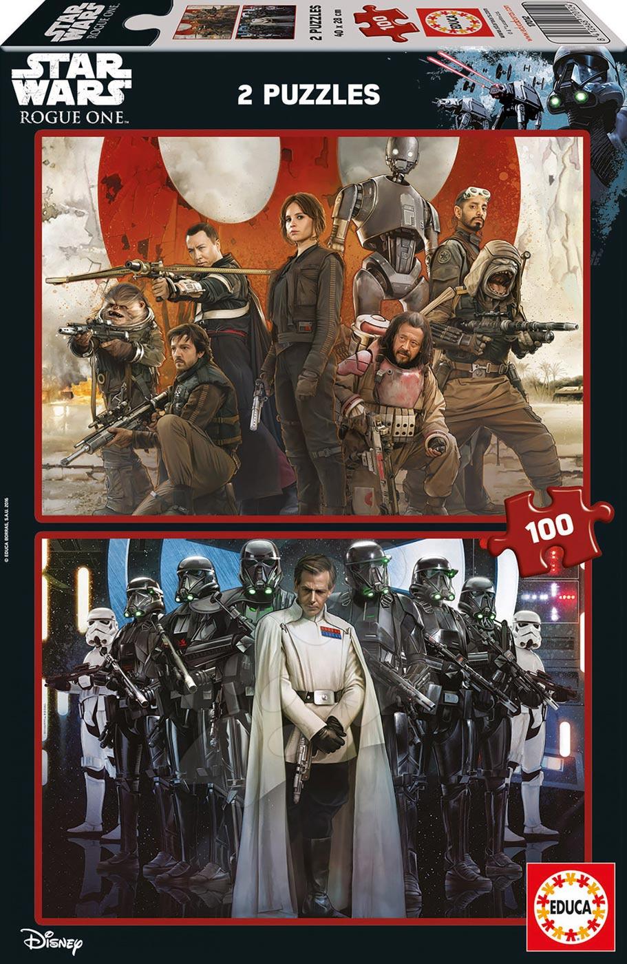 Puzzle Star Wars Story-Rouge One Educa 2x100 dílů od 5 let