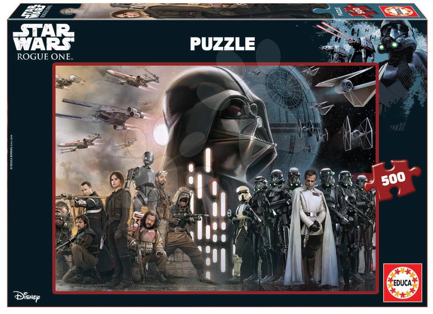 Puzzle Star Wars Story-Rouge One Educa 500 dílů od 11 let