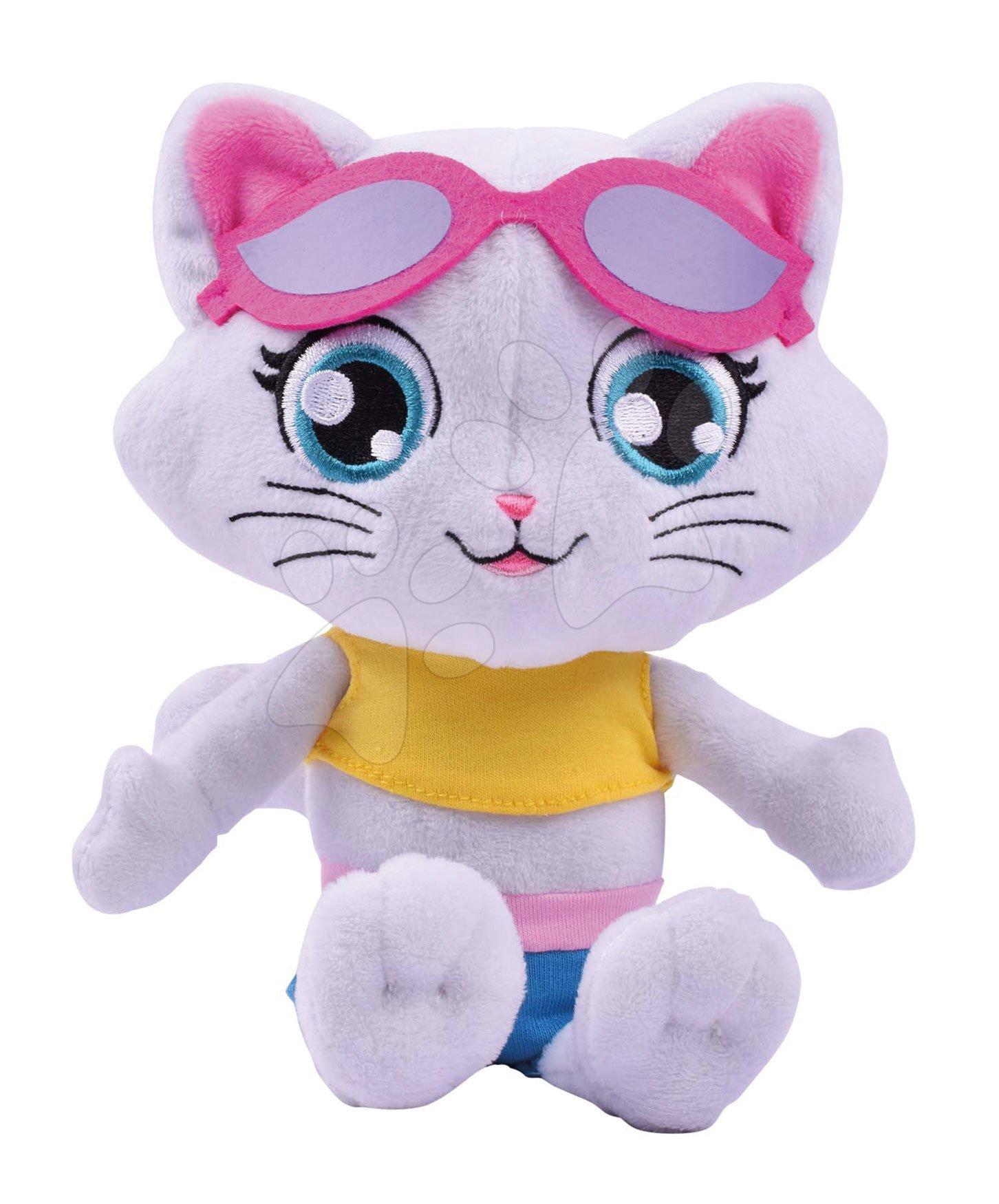 Plyšová kočka Milady 44 Cats Smoby hrající 21 cm pro nejmenší od 0 měsíců
