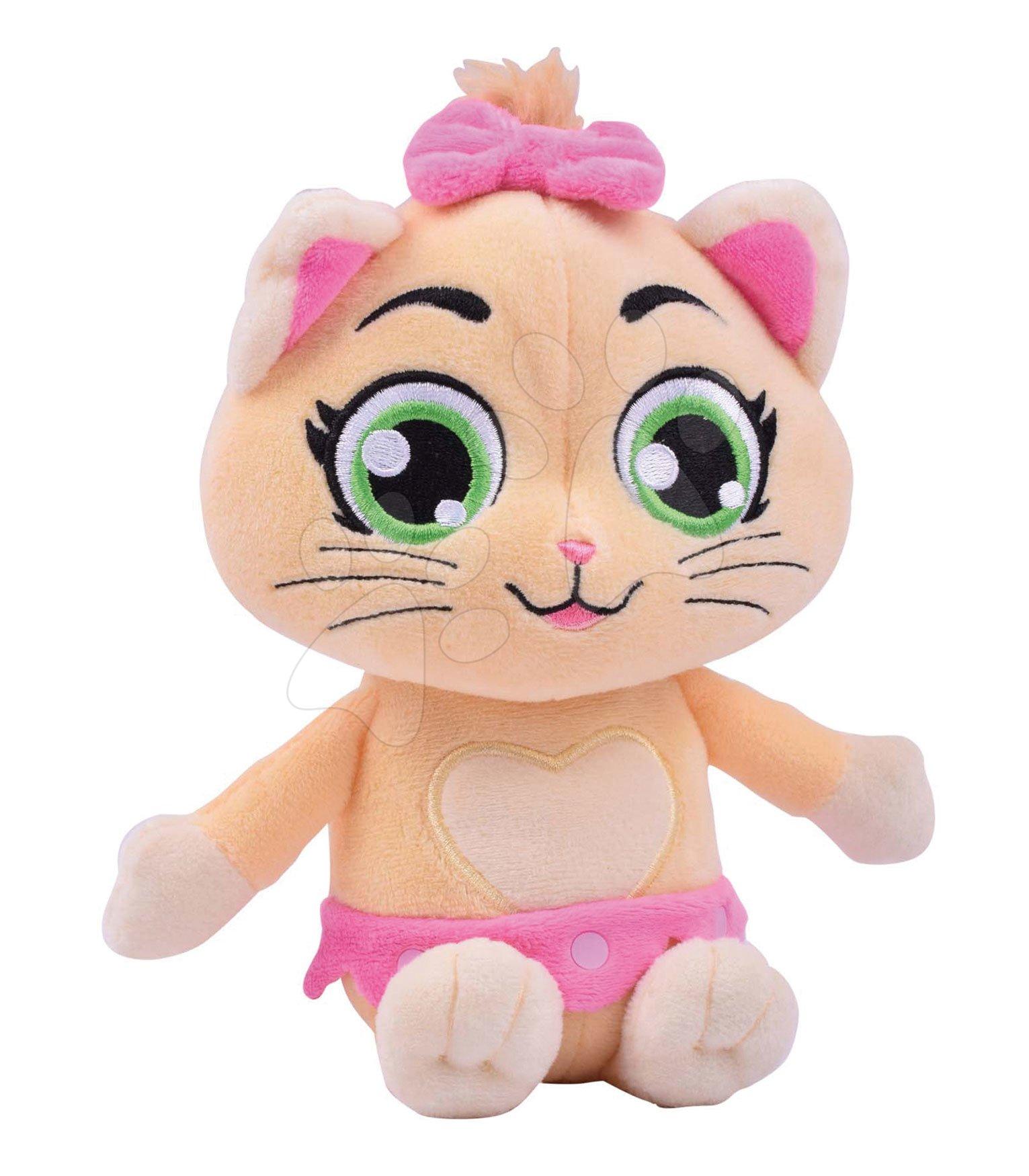 Plyšová kočka Pilou 44 Cats Smoby hrající 21 cm pro nejmenší od 0 měsíců