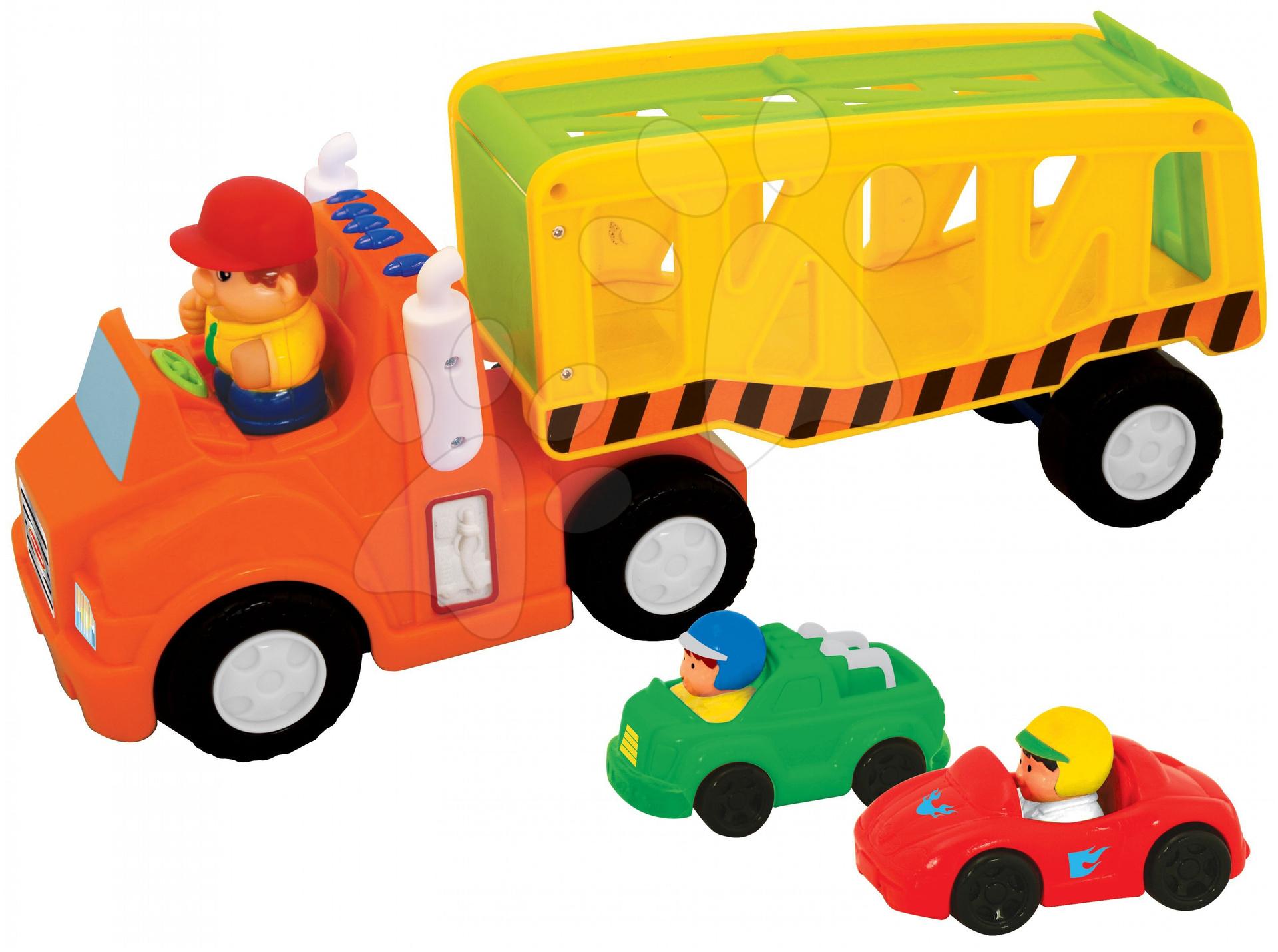 Staré položky - Activity kamión transportér Kiddieland s motorom zvukové od 18 mes