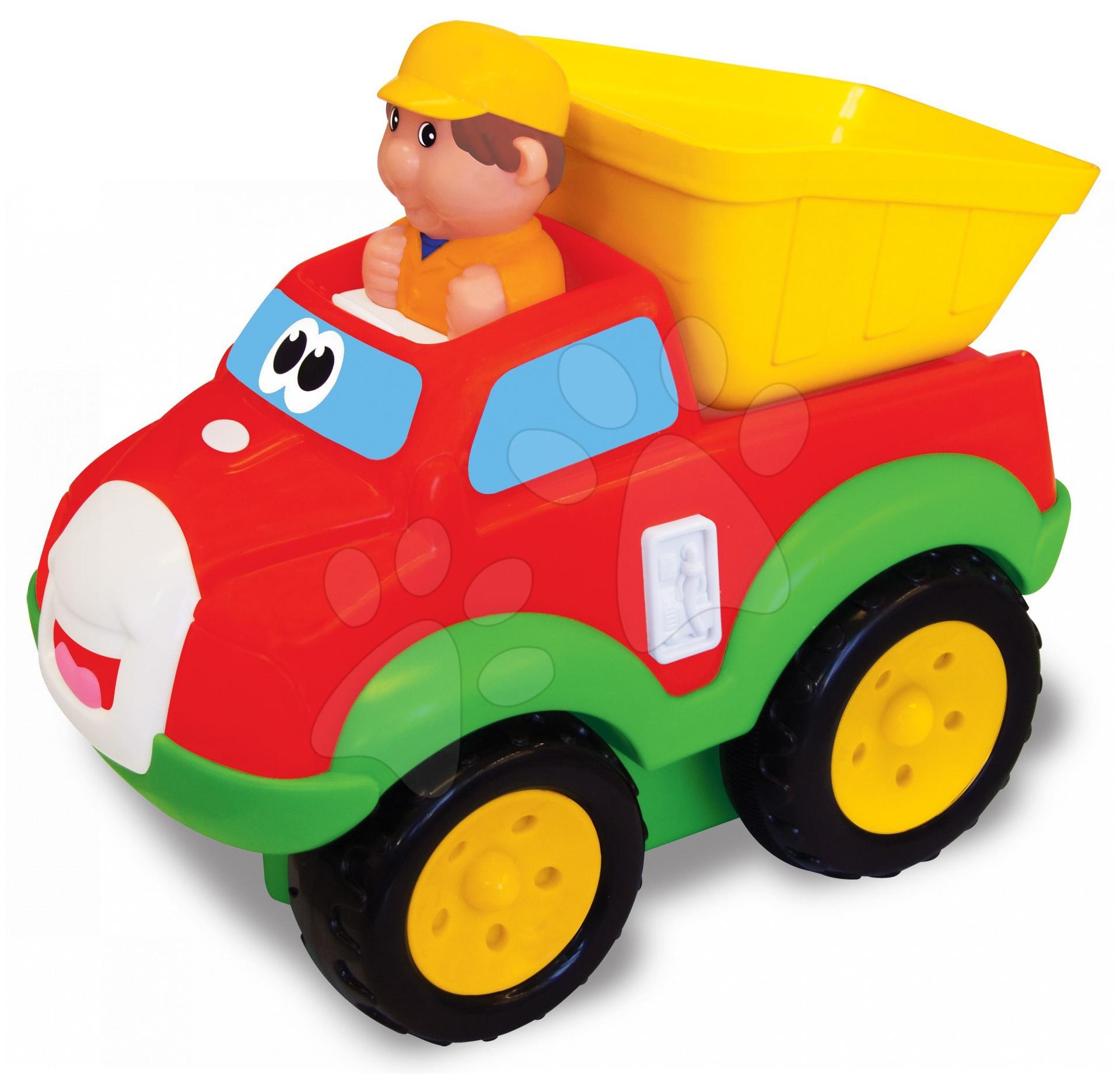Activity nákladní auto stiskni a jeď Kiddieland od 12 měsíců
