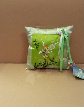 Polštářek WD Víly Ilanit 16*16 cm zelený