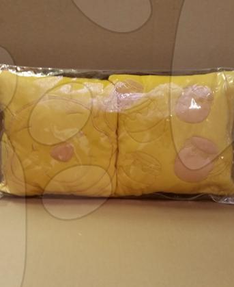 Souprava plyšový polštář WD Medvídek Pú Ilanit 28*28 cm 2 ks
