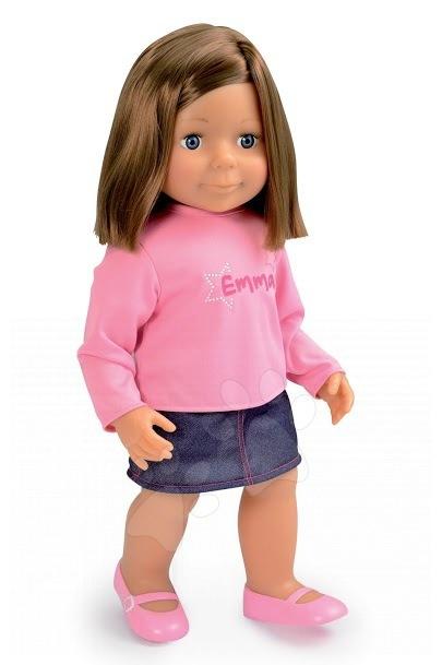Staré položky - Bábika Baby Nurse Emma s vlasmi Smoby 54 cm