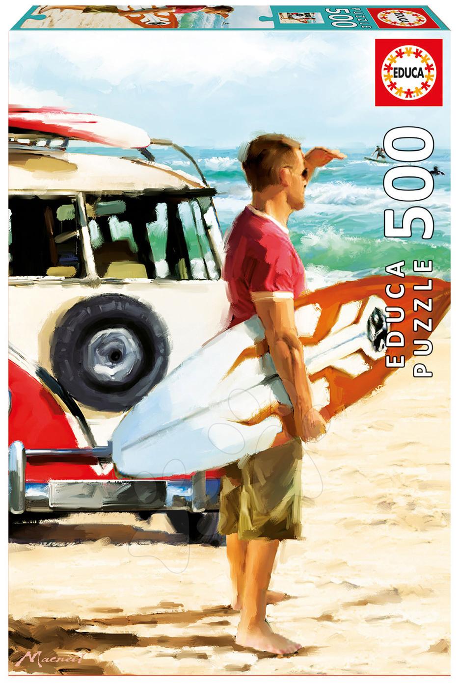 Educa puzzle Genuine Surfer 500 dielov 17084