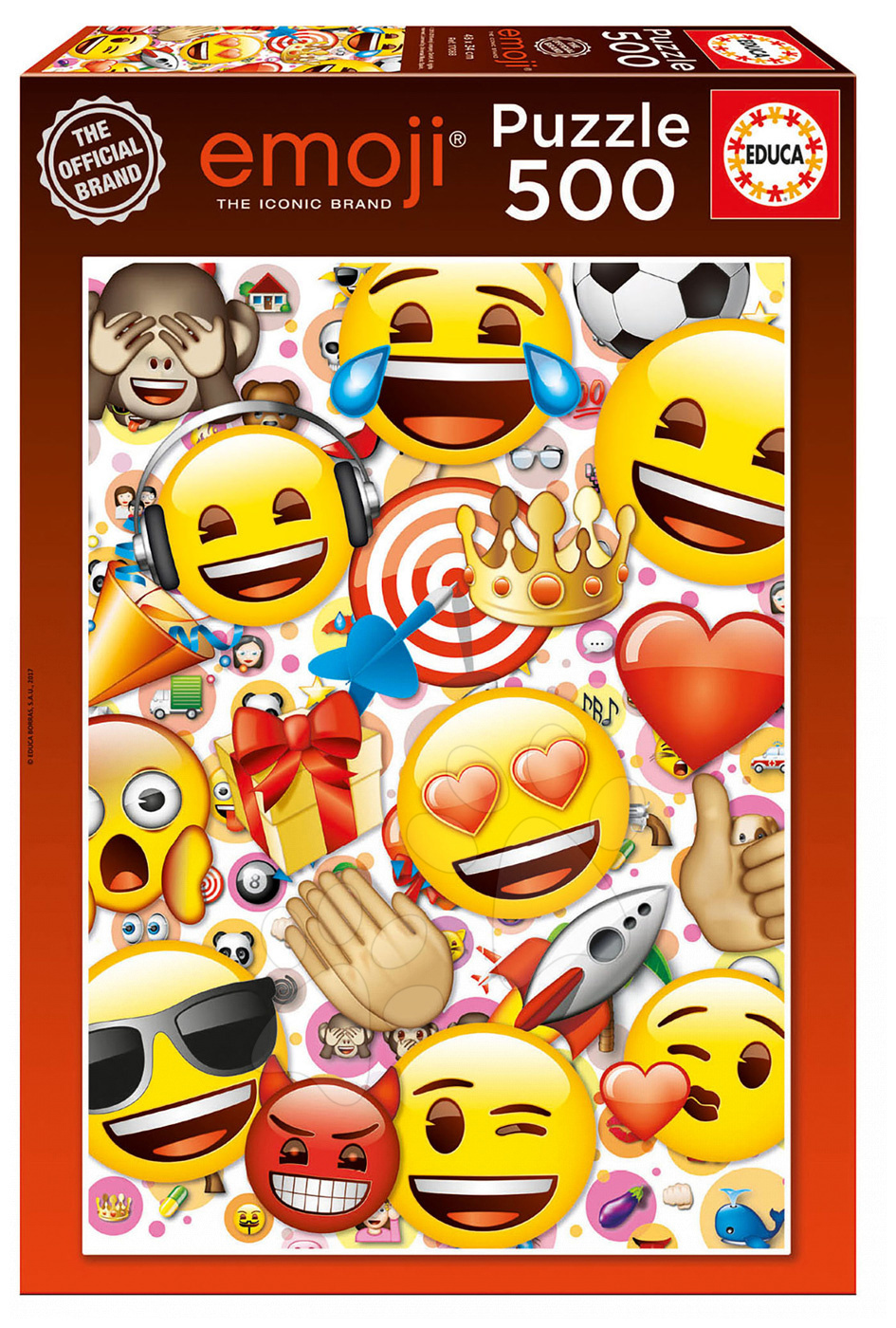Educa puzzle Emoji 500 dielov 17088