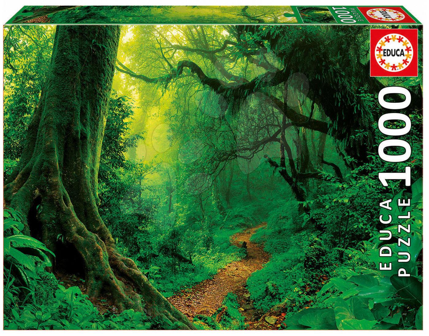 Puzzle Genuine Enchanted Forest Educa 1000 dílů od 11 let
