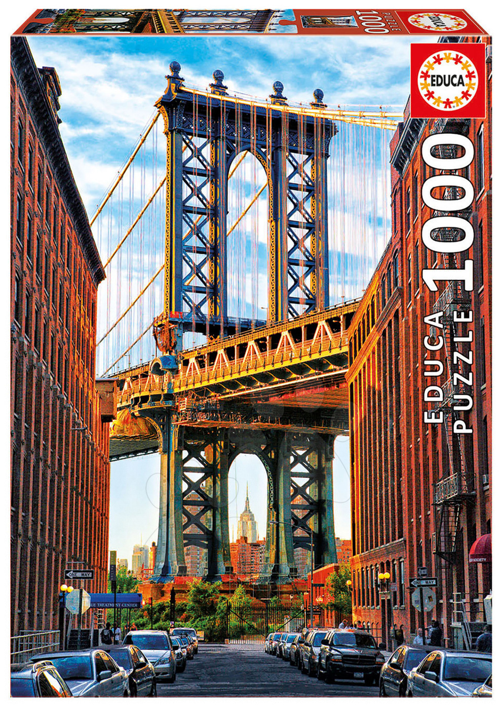 Puzzle Genuine Manhattan Bridge, New York Educa 1000 dílů od 11 let