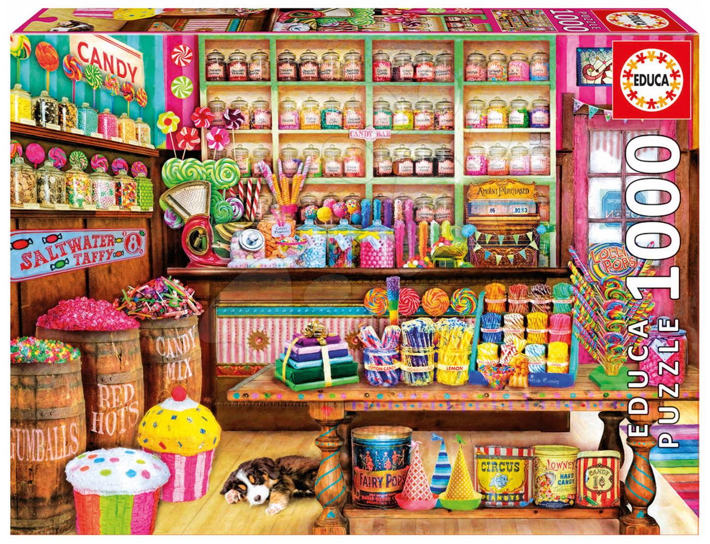 Educa puzzle Genuine Candy Shop 1000 dielov 17104