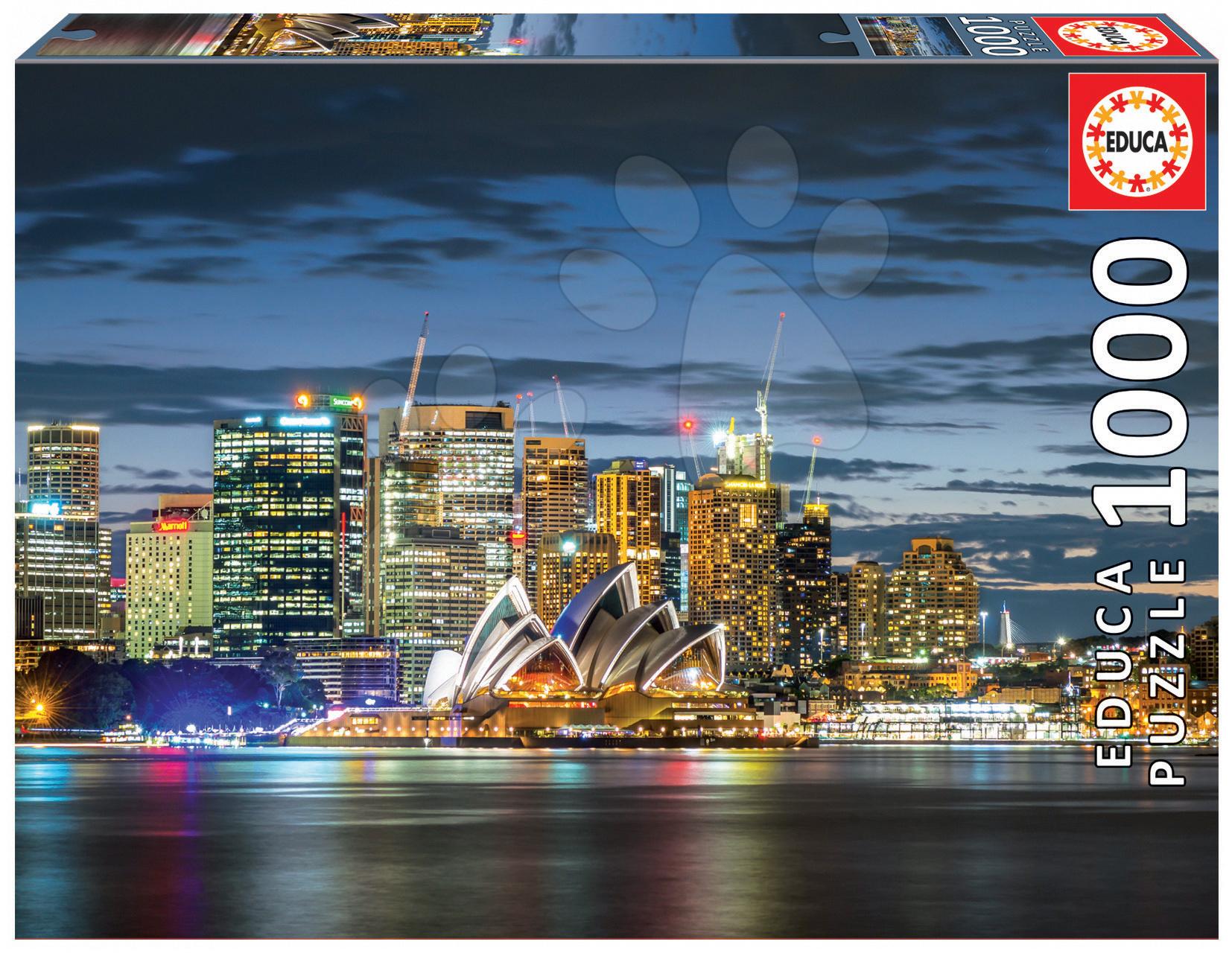 Puzzle Genuine Sydney City Twilight Educa 1000 dílů od 11 let