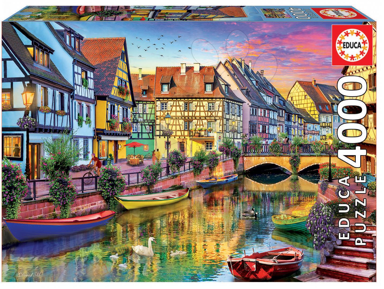 Puzzle Genuine Kanál Colmar Francie Educa 4000 dílků od 11 let