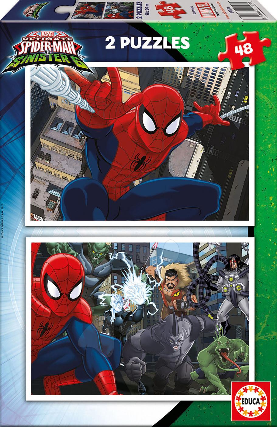 Puzzle Spiderman Educa 2x48 dílů od 5 let