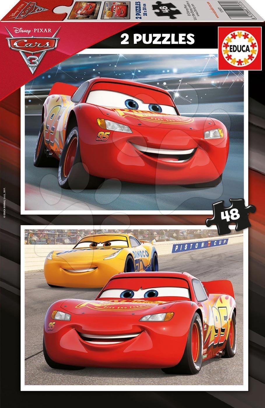 Puzzle Cars3 Educa 2x48 dílů