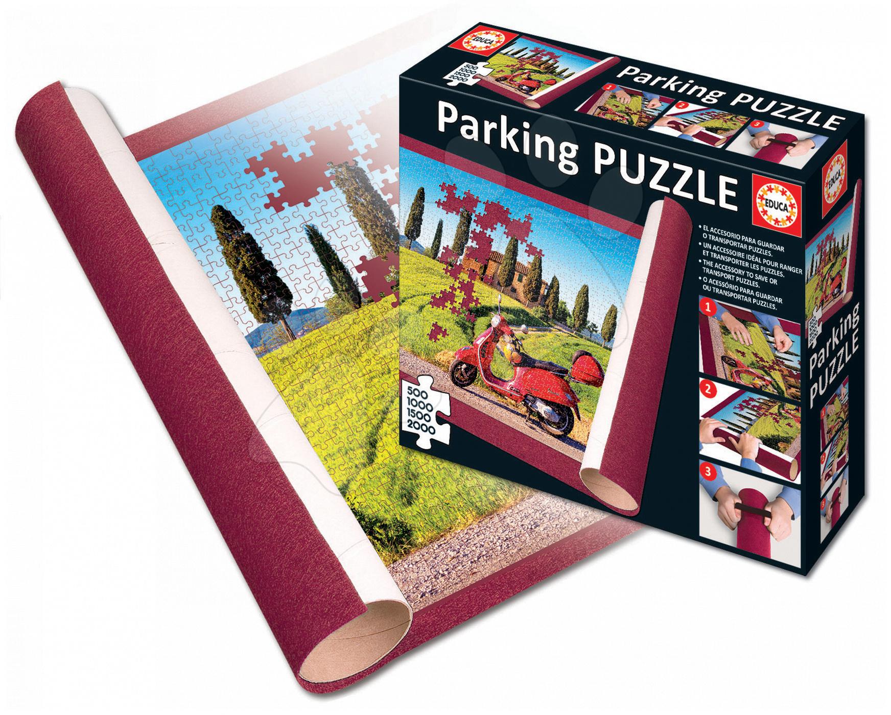 Podložka pod puzzle Parking Educa 122*80 cm od 11 let