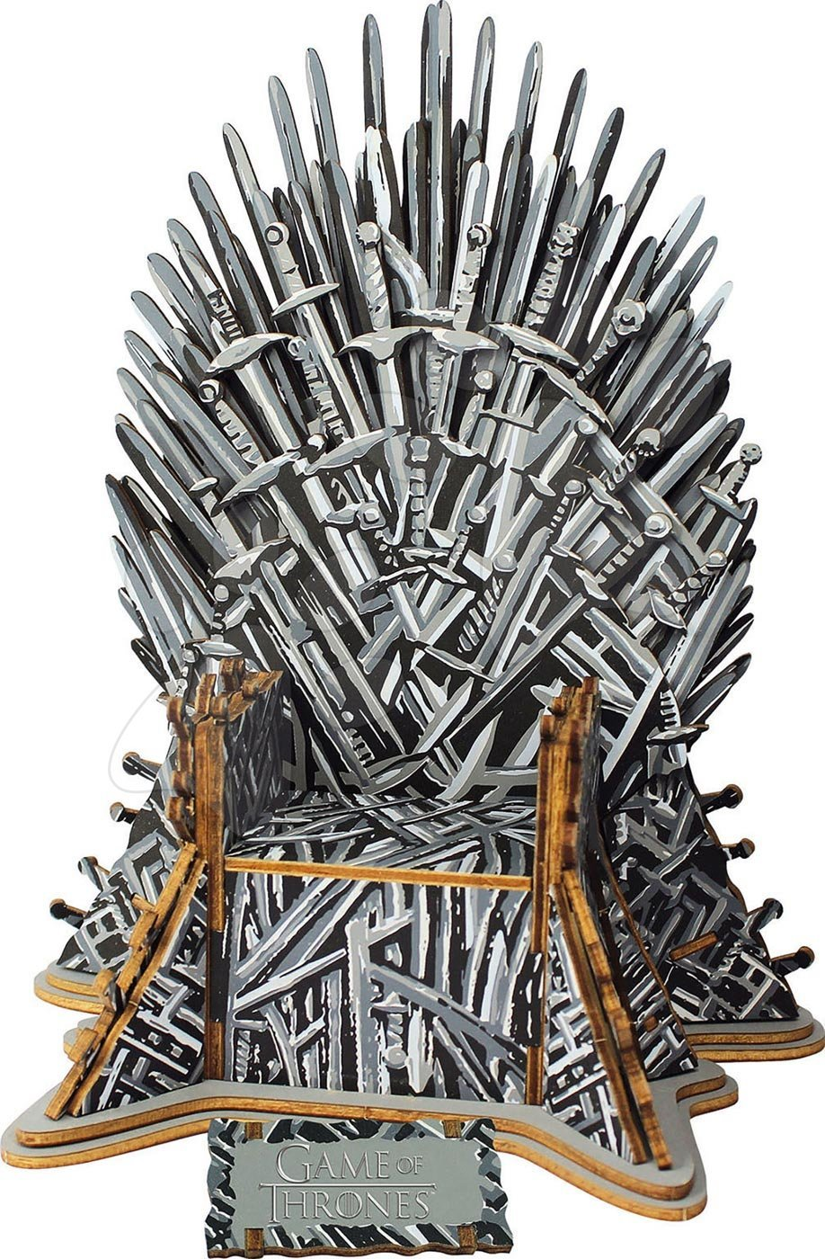 Dřevěné 3D Monument puzzle Iron Throne Educa 56 dílů od 6 let