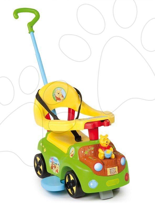 Auto Winnie the Pooh Smoby s tyčí od 6 měsíců