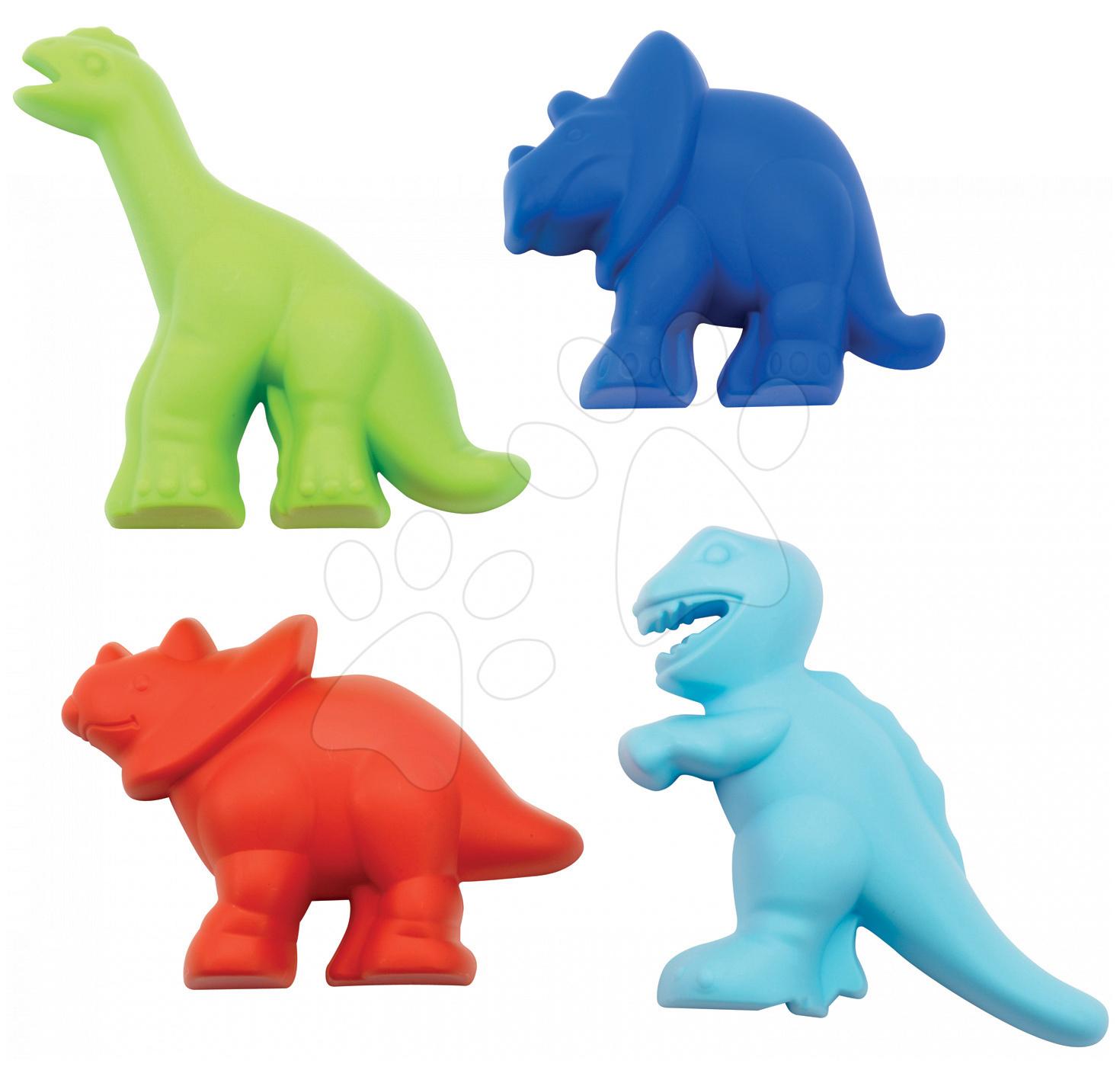 Formičky do piesku Dino Écoiffier 4 diely od 18 mes