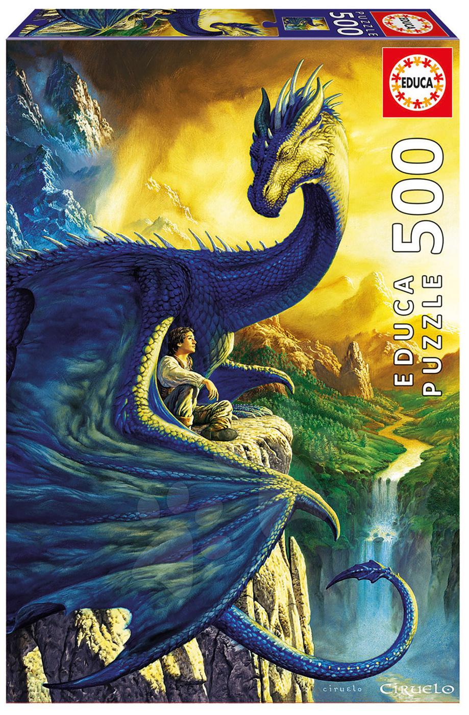 Puzzle Ciruelo Eragon a Saphira Educa 500 dílů od 11 let