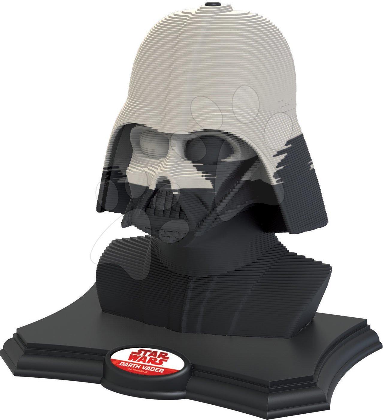 Puzzle 3D Sculpture Darth Vader Star Wars edice Educa Dark side 160 dílků