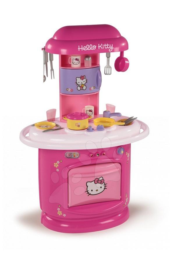 Smoby 24363 Berchet CUISINE CHEF kuhinja Hello Kitty s 23 dodatki 62*44*95 cm