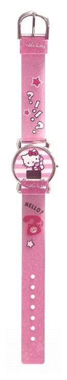 Ručné práce a tvorenie - Náramkové hodinky Hello Kitty Montres CTC ružové