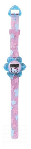 Náramkové hodinky Hello Kitty Montres CTC ružovo-modré