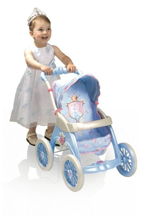 Kočík pre bábiku Princezná Popoluška Smoby (63 cm rúčka) od 3 rokov