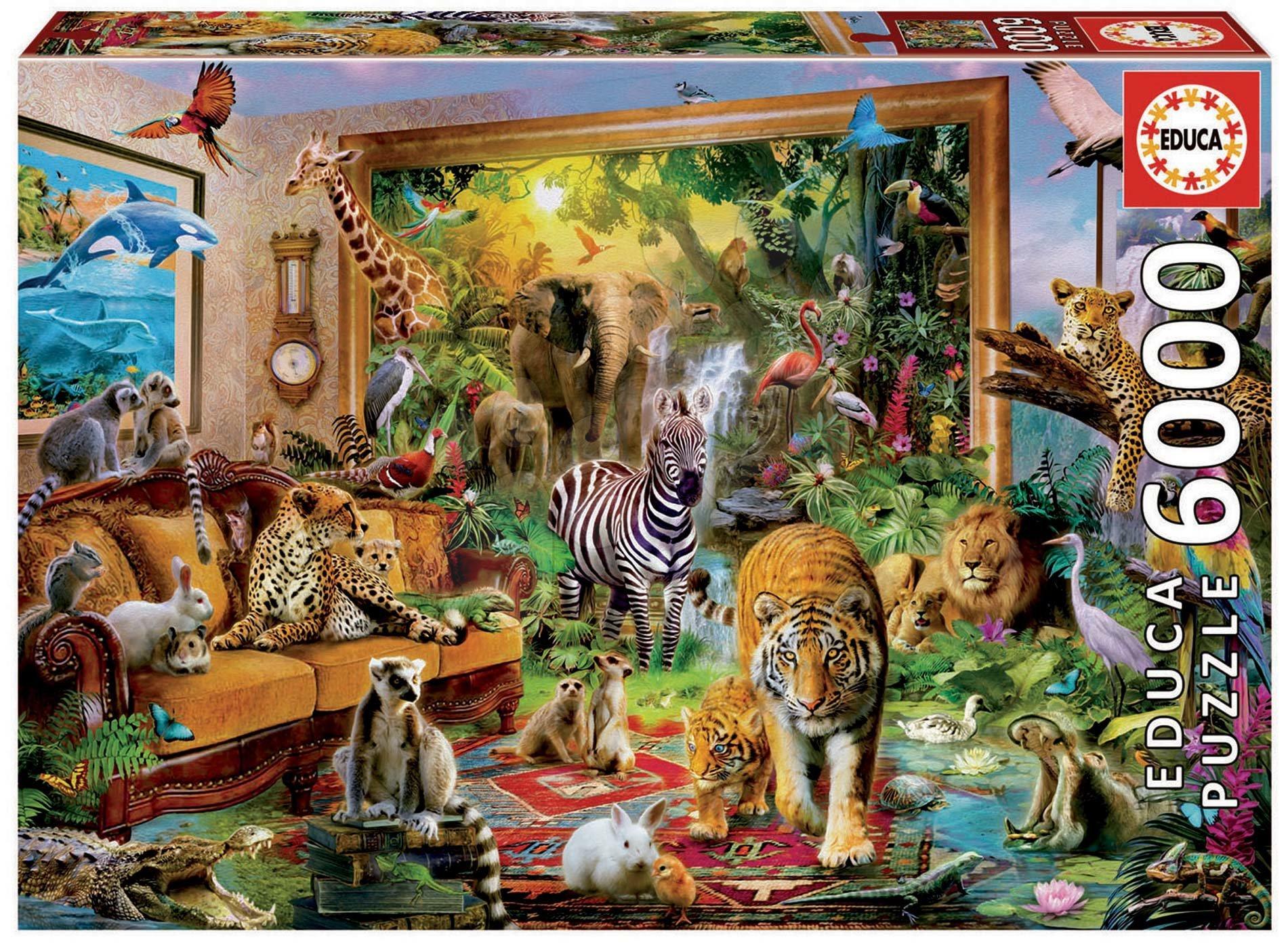 Puzzle Entering the bedroom Educa 6000 dielov EDU17679