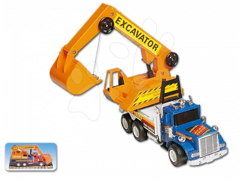 Stavební stroje - Autobagr TRUCK MIX Dohány