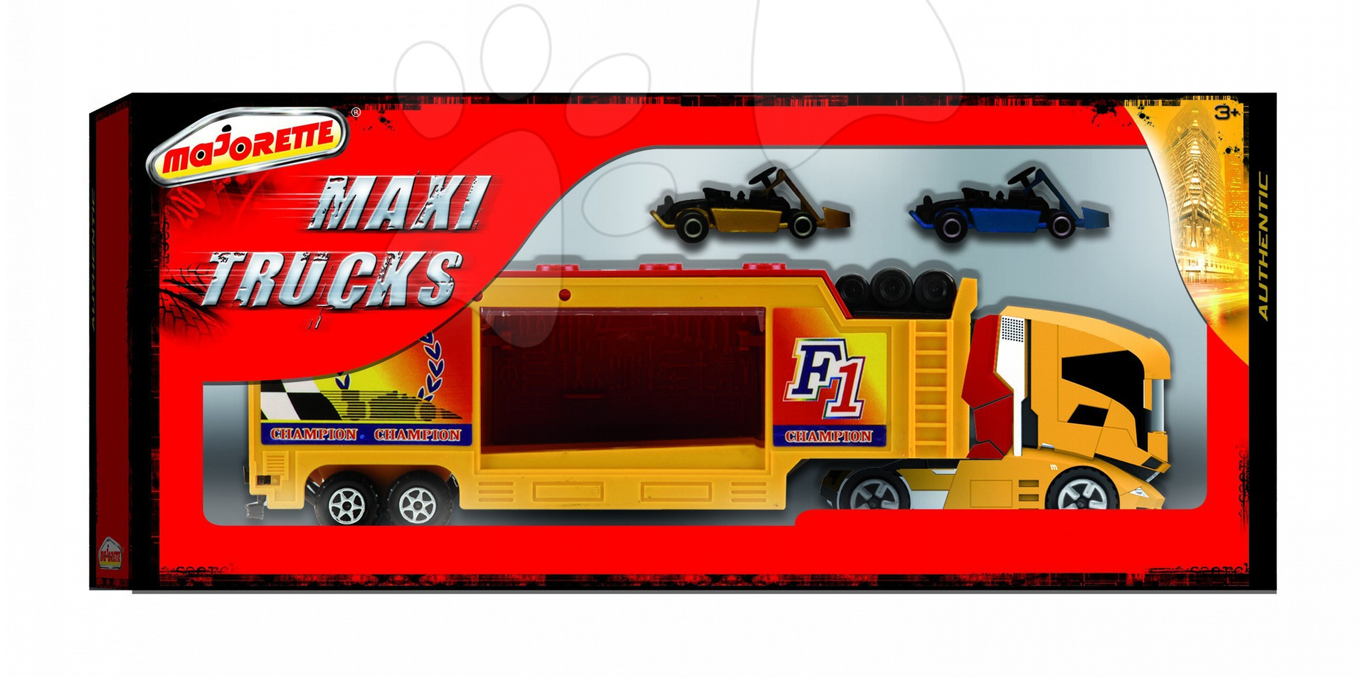Nákladné autá - Transportér kamión autentický Majorette 2 farby