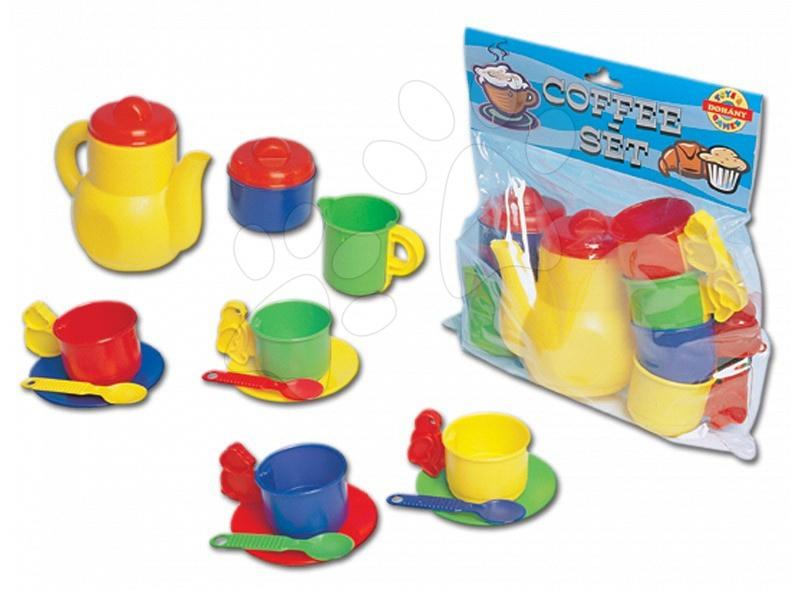 Accesorii și vase de bucătărie de jucărie - Set de cafea Dohány cu cești mari