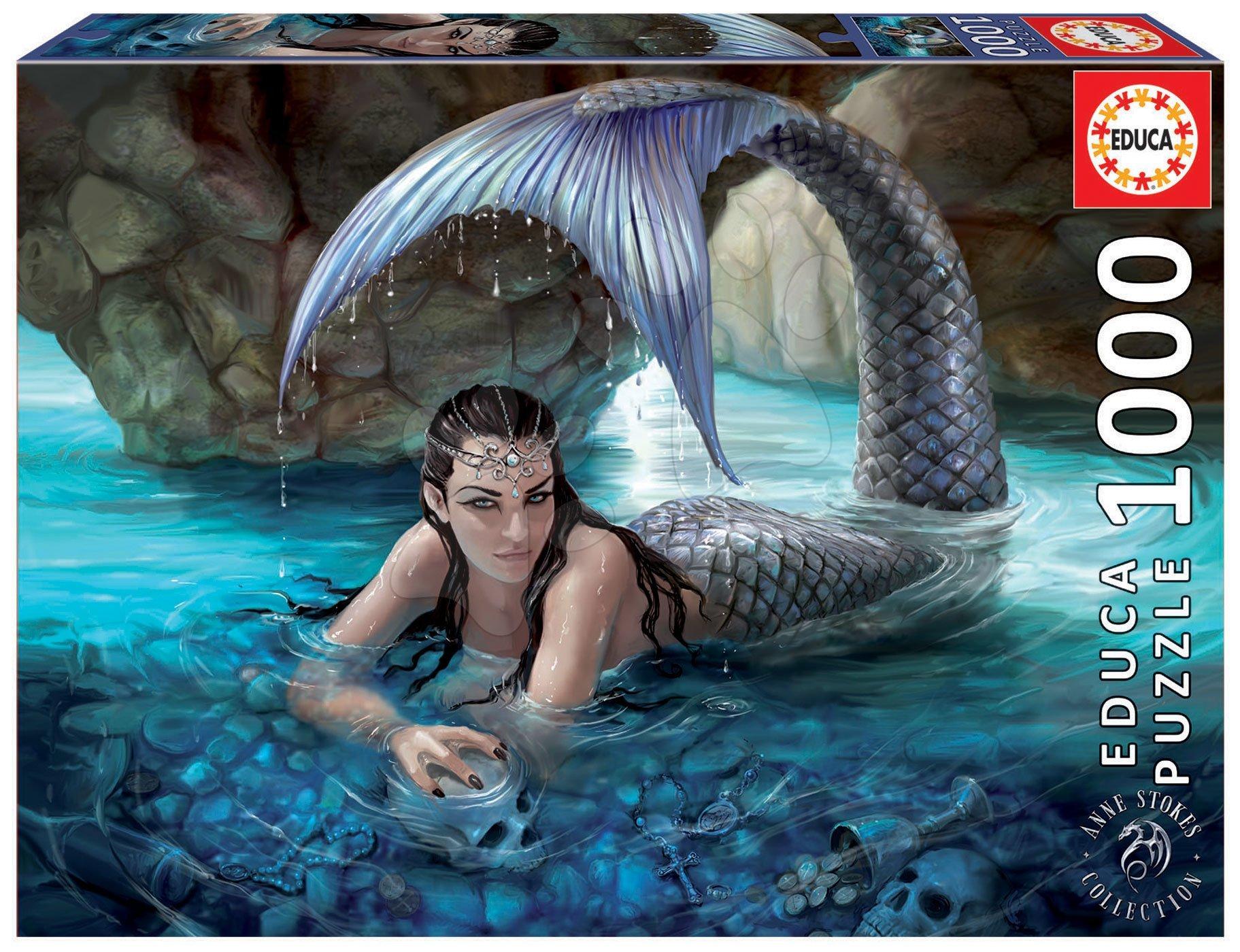 Puzzle Hidden Depths Educa 1000 piese și lipici Fix puzzle