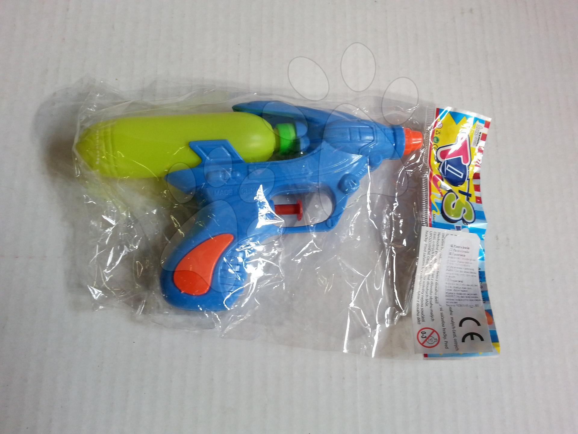 Vodné pištoľky - Vodná pištoľka Scorpio modrá/zelená/oranžová