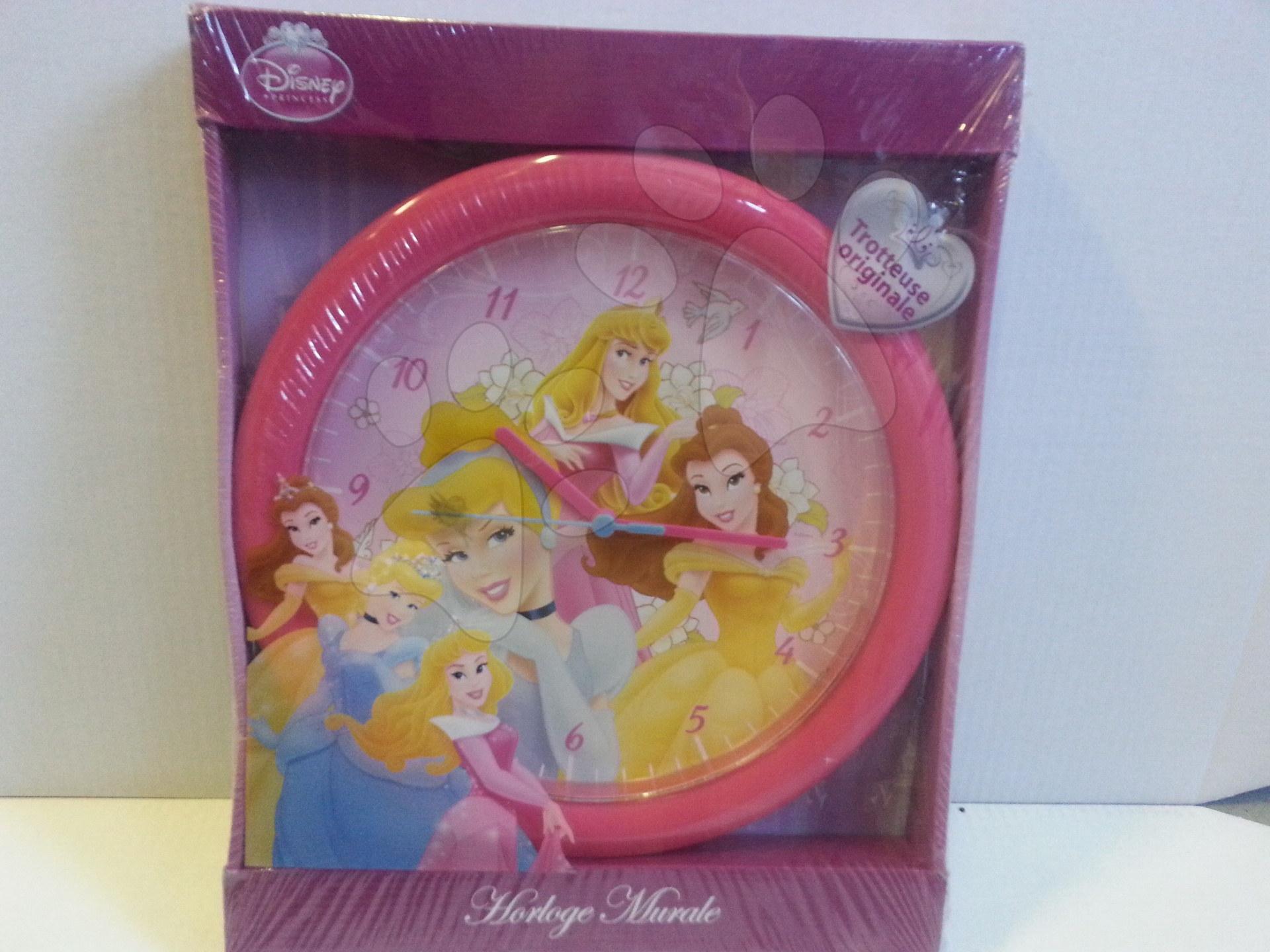 Ručné práce a tvorenie - Nástenné hodiny Princess 30*30 cm