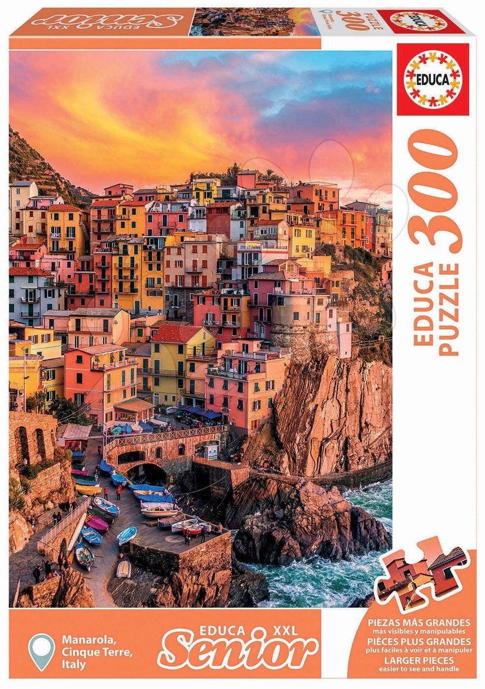 Educa puzzle Manarola, Cinque Terre Italy Senior XXL 300 dielov 17980
