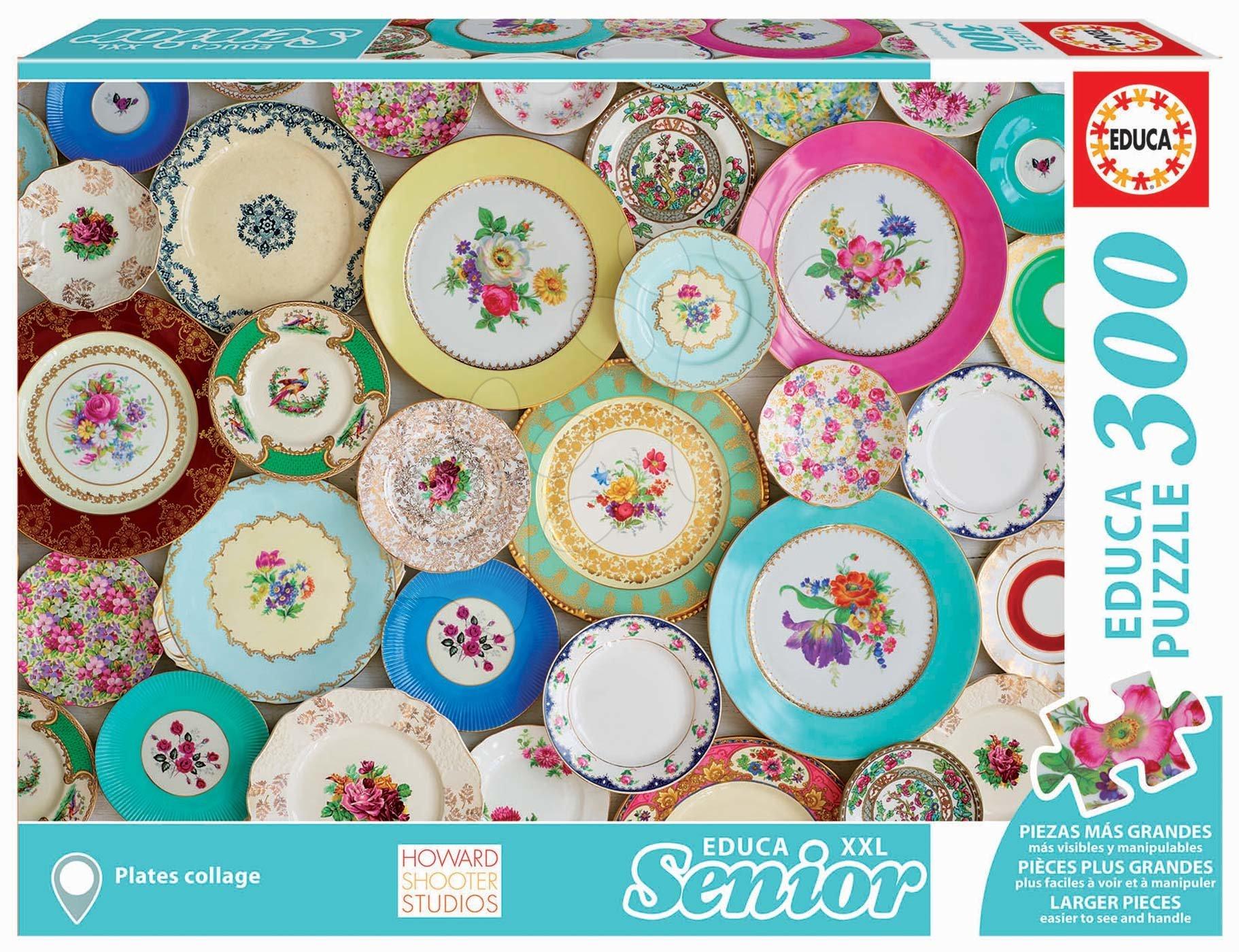 Educa puzzle Plates Collage Senior XXL 300 dielov 17982