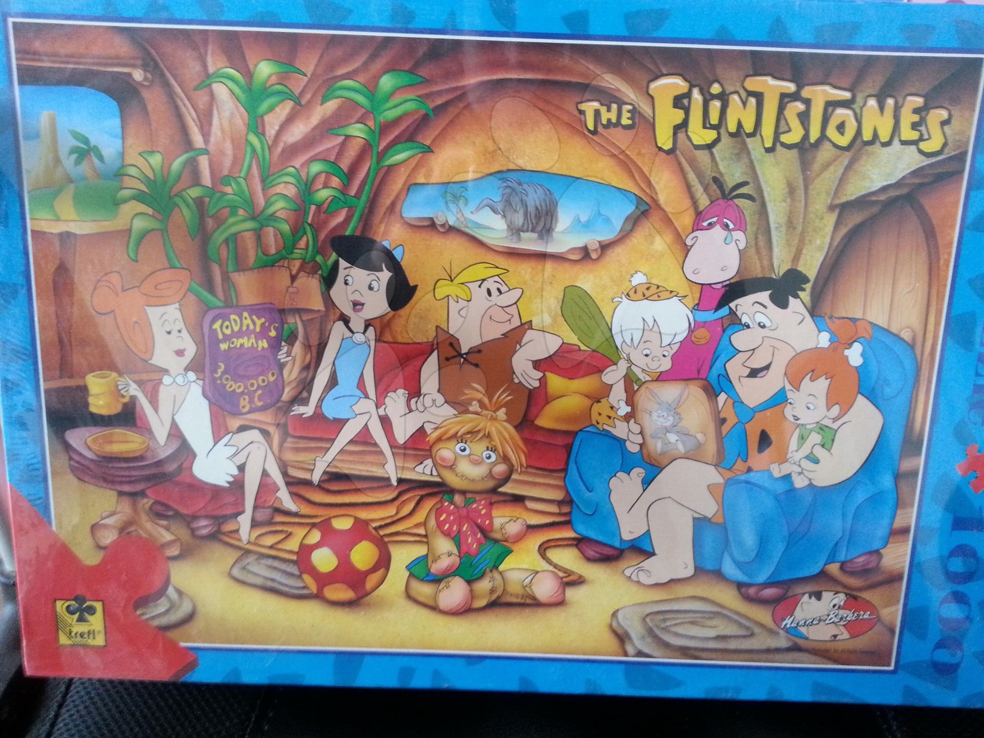 Puzzle 1000 dílků The Flintstones