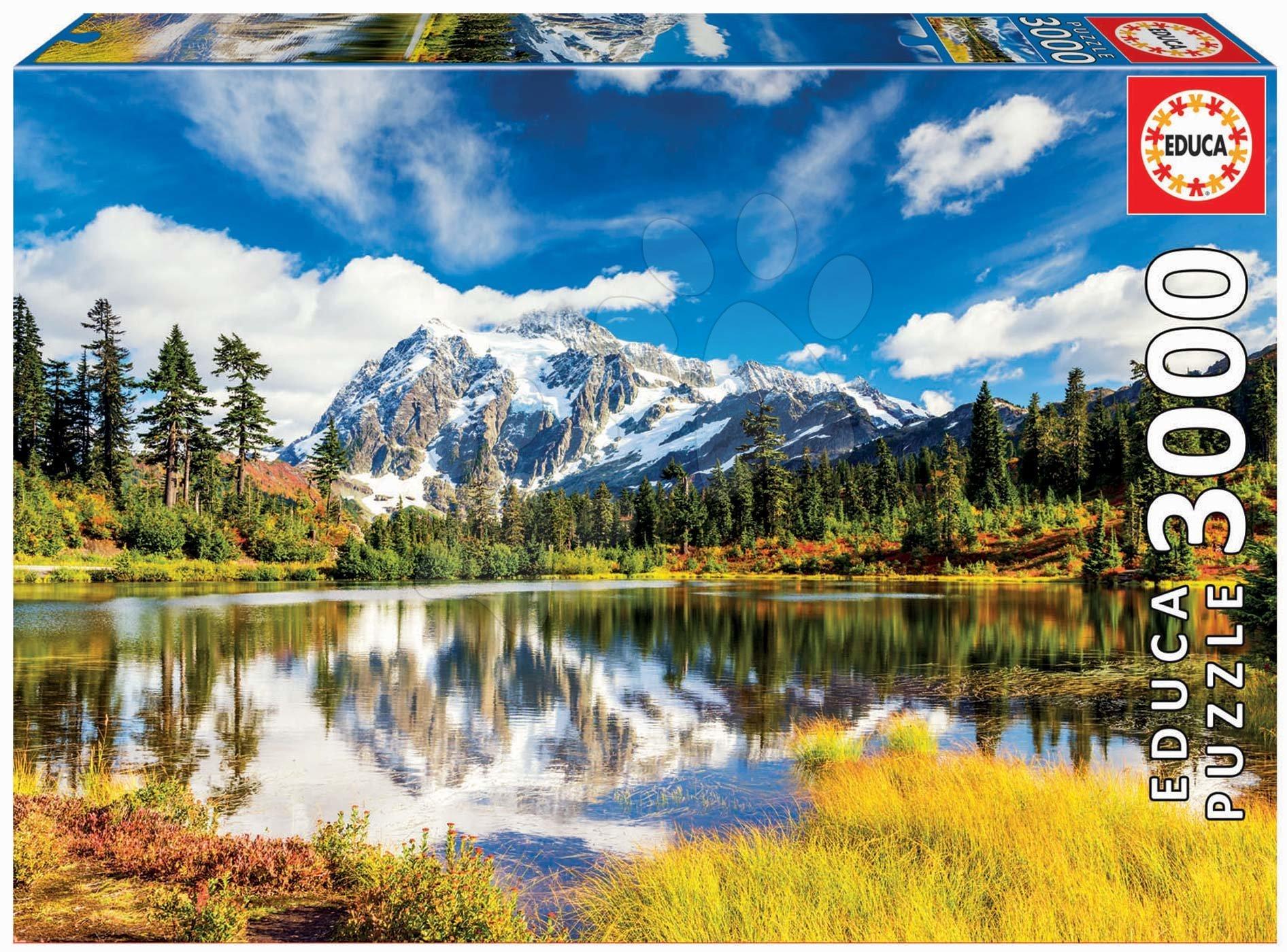 Puzzle Mount Shuksan Washington USA Educa 3000 darabos 11 évtől