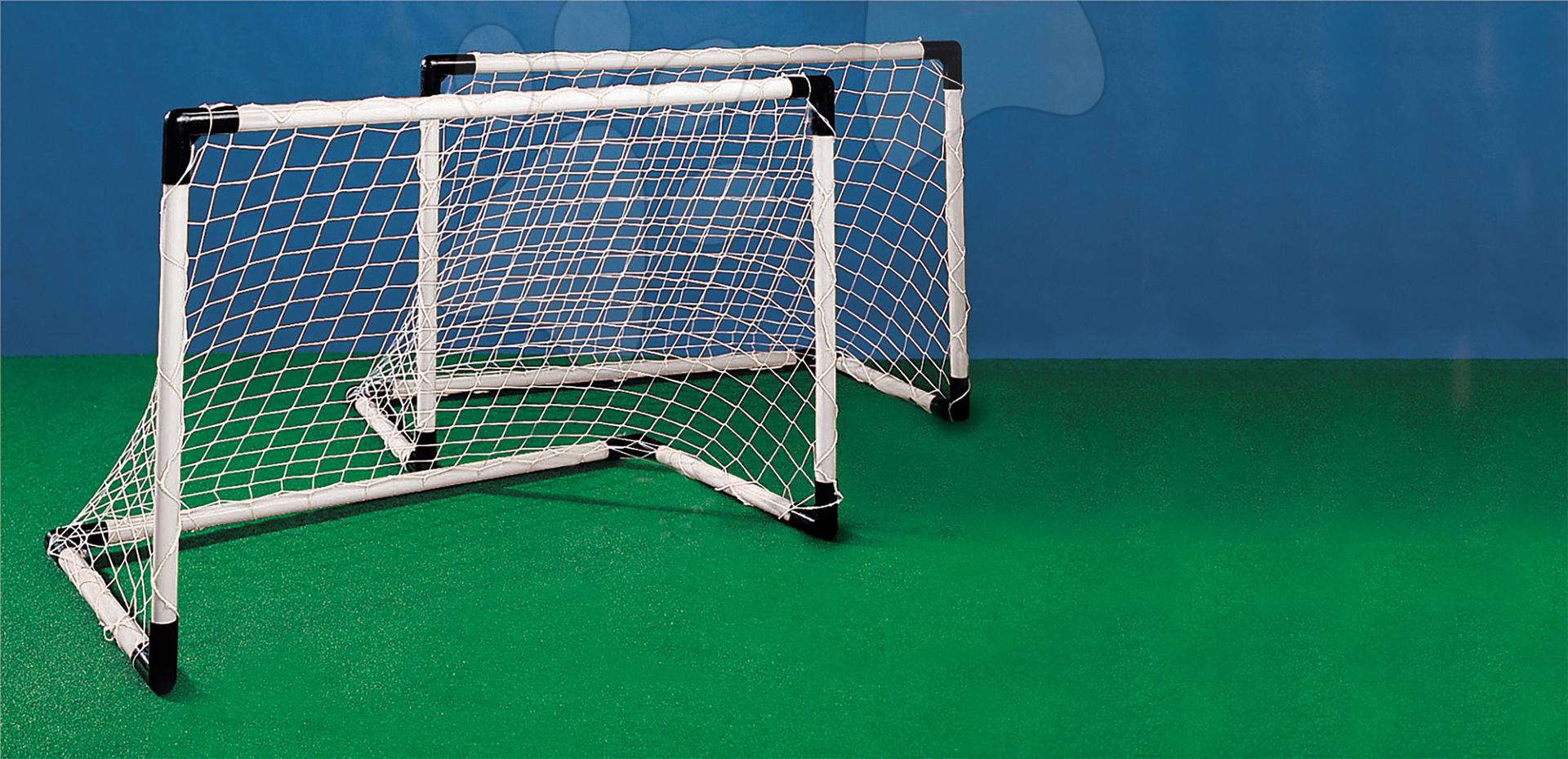 Fotbalové branky Mondo dvě s míčem šířka 91,5 cm od 5 let