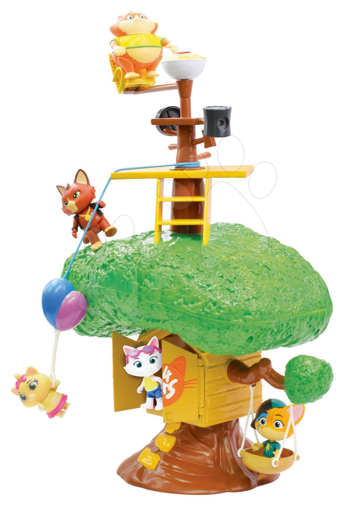 Kočičí dům na stromě 44 Cats Smoby s množstvím funkcí