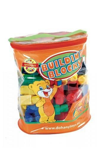 Otroške kocke Dohány - Otroške kocke Maxi Blocks Dohány 60 delov od 18 mes