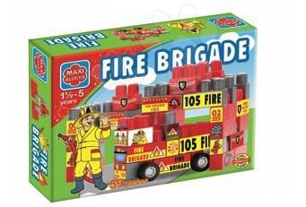Kockák Tűzoltók Maxi Blocks Dohány 59 darabos 18 hó-tól