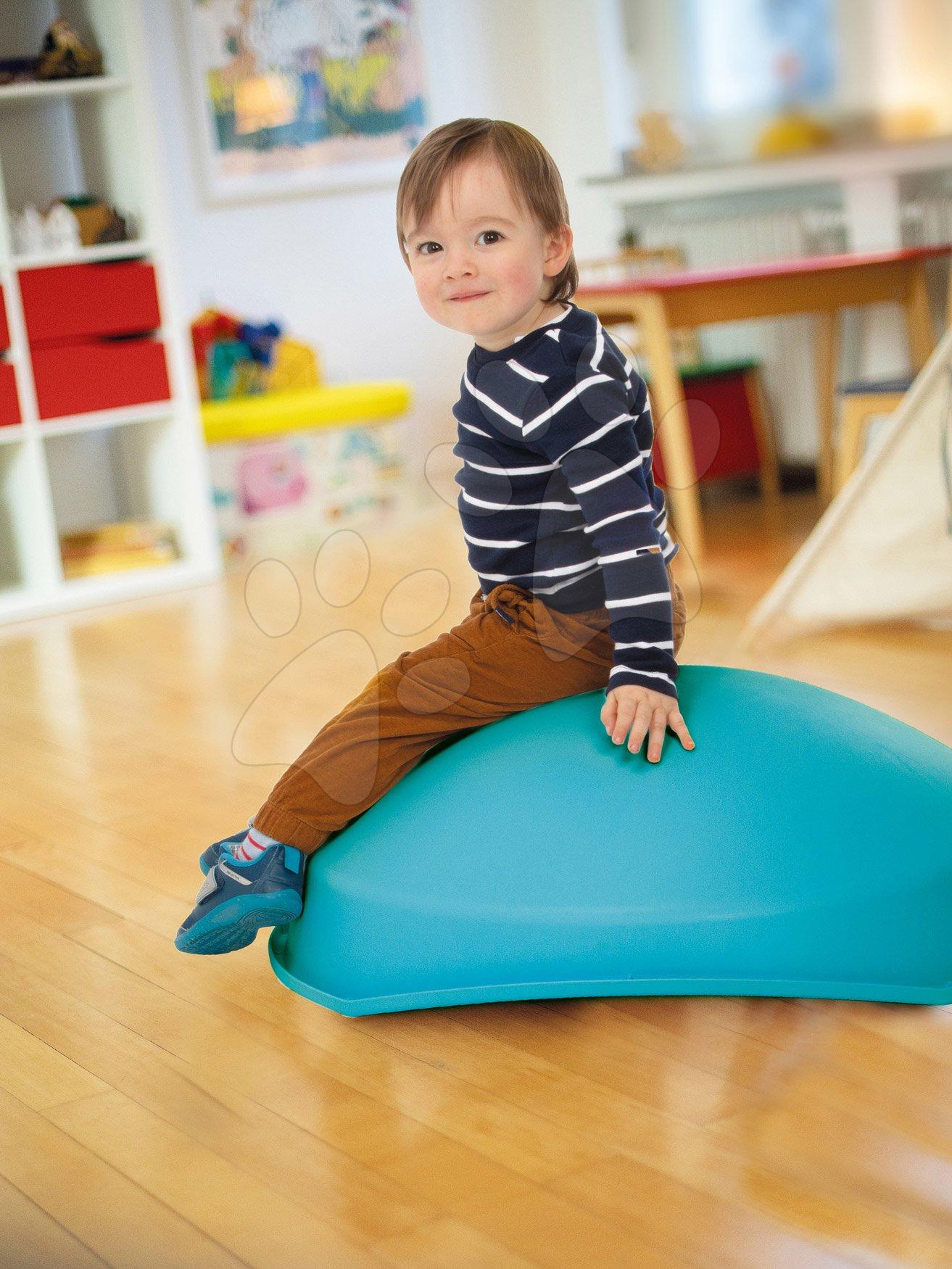 Skluzavky pro děti - Balanční kužel s polštářem Cosy Top Swing Smoby multifunkční skluzavka na rozvoj pohybu od 12 měsíců