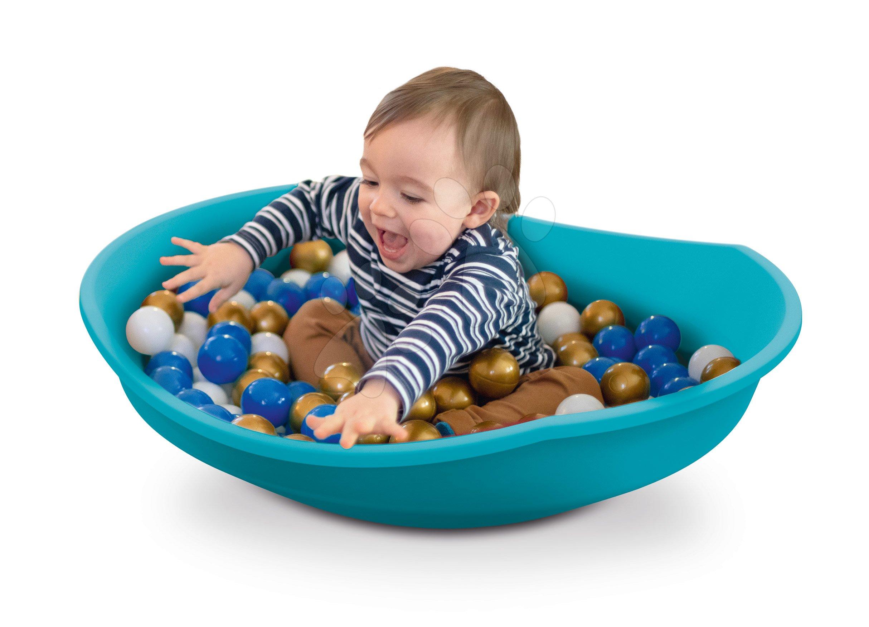 Con de balansare cu pernă  Cosy Top Swing Smoby piscină multifuncțională, dezvoltă multiplu motorica și mișcarea de la 12 luni