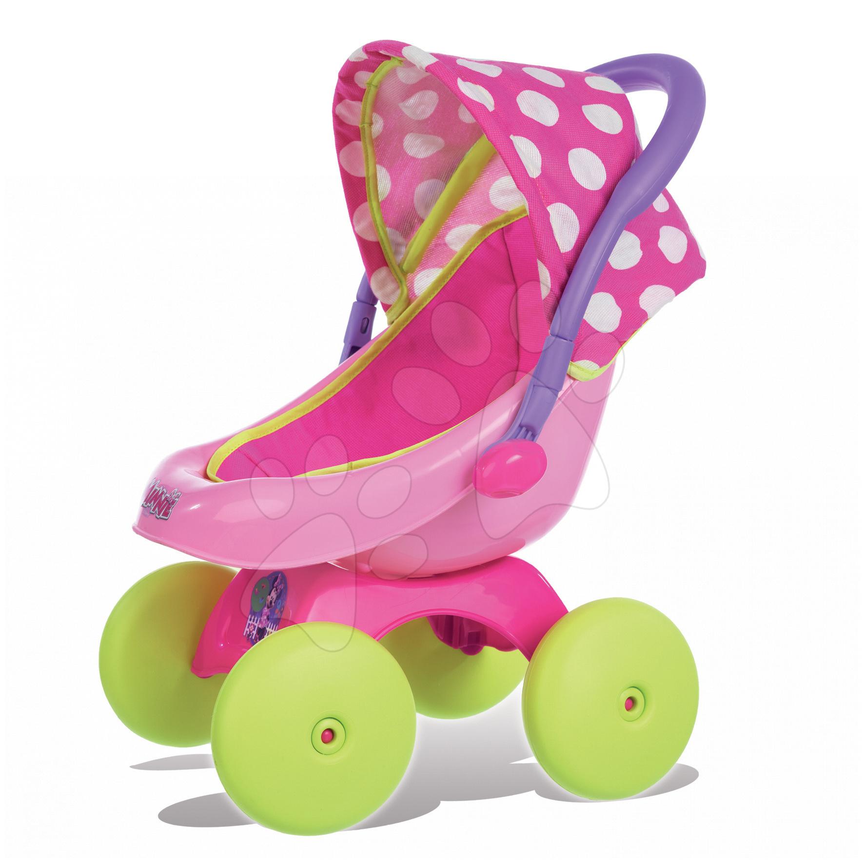 Staré položky - Kočík pre bábiku 4v1 Landau Minnie Smoby od 18 mes