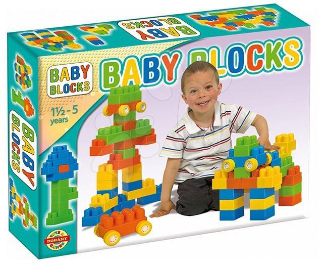 Otroške kocke Dohány - Velike kocke Baby Dohány 24 delov od 18 mes