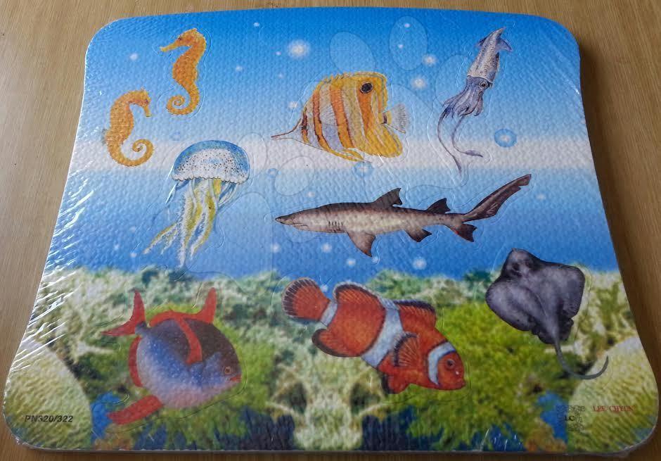 Pěnové puzzle Mořský svět Lee Chyun